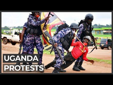Deadly protests in Uganda after Bobi Wine arrested again