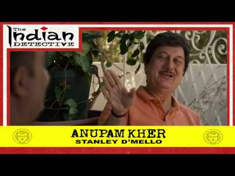 The Indian Detective - Anupam Kher as Stanley D'Mello - Trading Card - 4/15