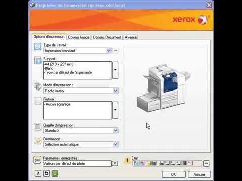 comment nettoyer une imprimante xerox