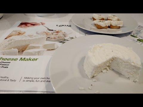 Lékué Cheese Maker - REVIEW
