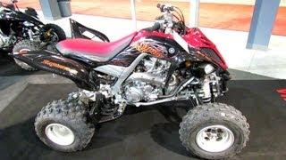 10. 2013 Yamaha Raptor 700R SE Pure Sport ATV - 2012 Salon National du Quad - Off Road Vehicles Show