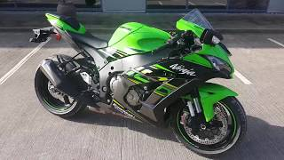 3. 2018 Kawasaki Ninja ZX10R KRT Edition Superbike Walkaround