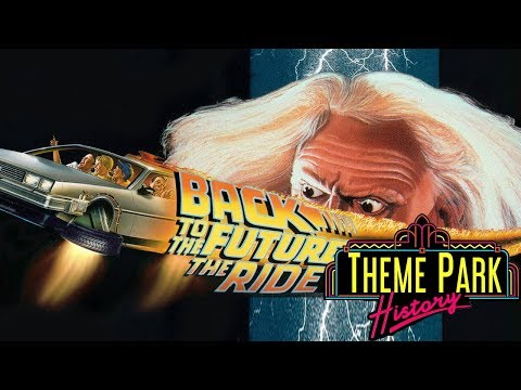 The Theme Park History of Back To The Future: The Ride (Universal Studios Florida/Hollywood/Japan)
