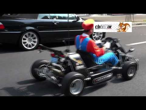 Real Life Mario Cart In Japan