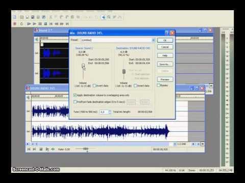 Edicin de audio en sound forge 8.0 (видео)