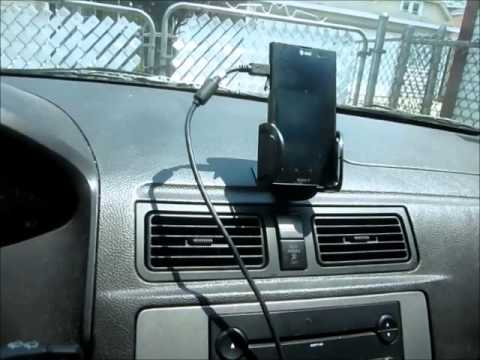 ipod - how to play your ipod music or phone music through your regular car stereo. i show you how to use a FM transmitter and review the Scorche FM transmitter. I a...