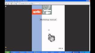 10. Aprilia RS 50 Manual
