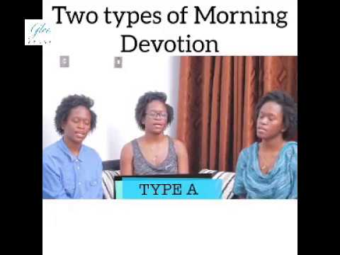 Two types of Morning Devotion - Maraji Comedy