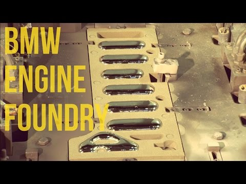 BMW Engine Block Casting