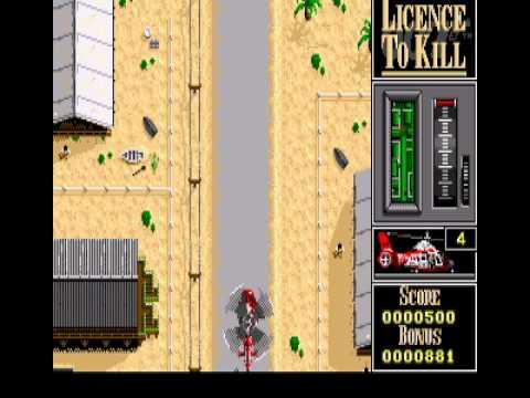 007 : Licence to Kill Atari