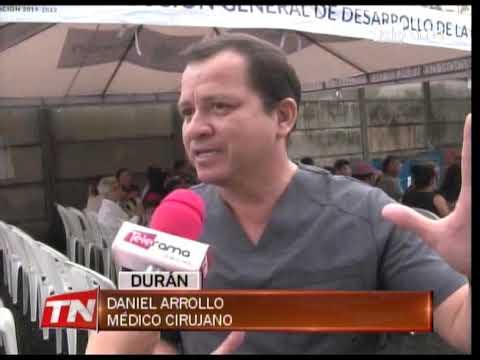 Prefectura del Guayas realiza operaciones gratuitas