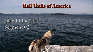 Colchester (VT) United States  city pictures gallery : Rail Trails of America - Island Line Rail Trail - Segment 02 - Colchester, VT