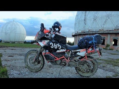 Motorcycle tour to Ukraine carpathian (Украинские Карпаты) mountains 2016. KTM 990/1190 adventure (видео)