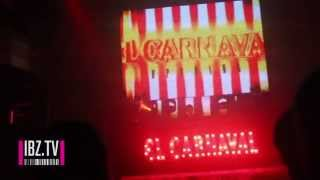 El Carnaval Ibiza 2014 at Gatecrasher Ibiza