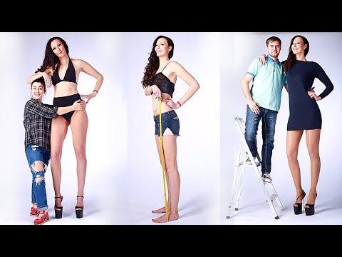 Yli 2 metrinen Ekaterina Lisina taitaa olla maailman pisin naismalli