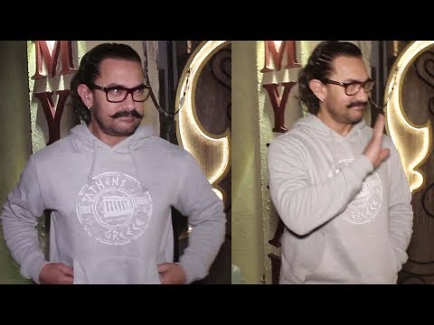 Aamir Khan Spotted At Myrah Spa In Juhu