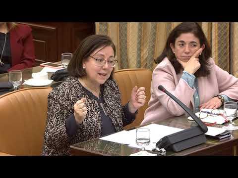 Intervención de María Jesús Moro en la Comisión de...