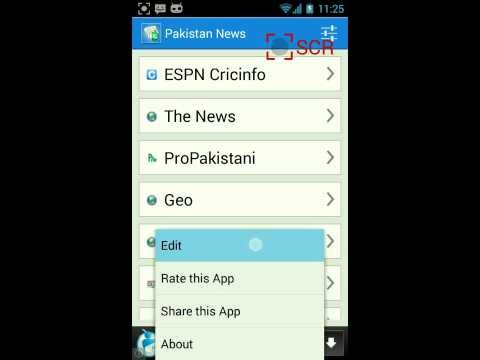 Video of Pakistan News