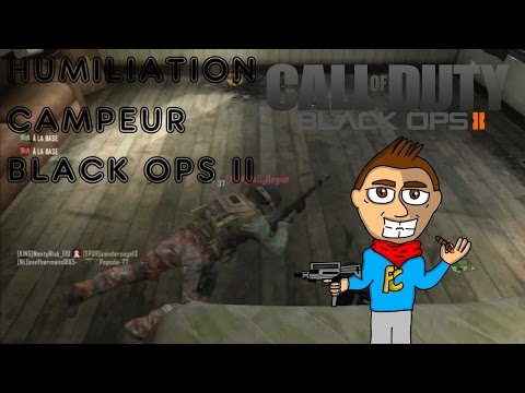 [TOP10] HUMILIATION CAMPEUR SUR BLACK OPS II ! [FR] (видео)
