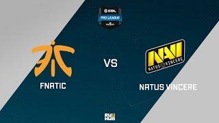 Na'Vi vs fnatic, game 1