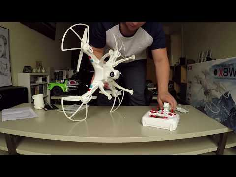 Watch the unboxing of our Syma X8W Drone