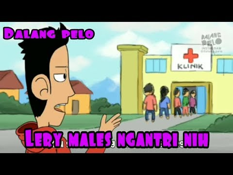 Dalang pelo Lery males ngantri nih (видео)