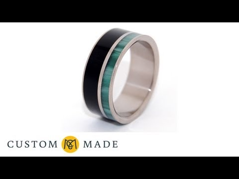 Creation of a Custom Wedding Band by Minter & Richter Designs on www.custommade.com