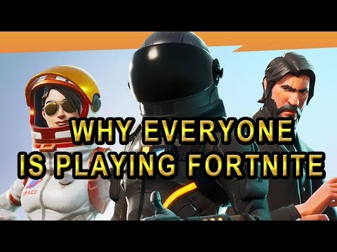 Why Everyone Is Playing Fortnite (Former Call of Duty / Overwatch / Moba / Streamers & Youtubers)