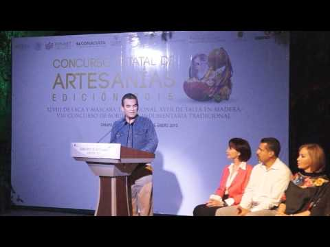 Premiación del Concurso de Artesanias edición 2015