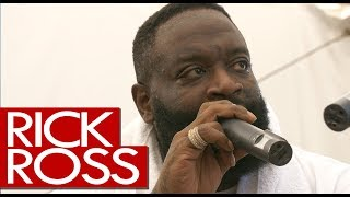 Rick Ross pears tattoo, new Meek Mill collab, Port of Miami 2 - backstage Wireless
