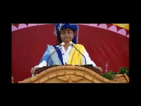 JANMASHTMI [GOKULASTAMI] MAHOTSAV SATSANG SURAT 2016 : PRERNAMURTI SHRI BHARTI SRIJI