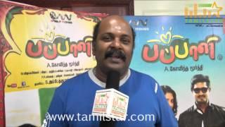 Singampuli at Pappali Movie Team Interview