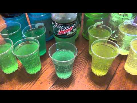 """How To Make Taco Bell's Mtn Dew """"BAJA BLAST"""" At Home"""