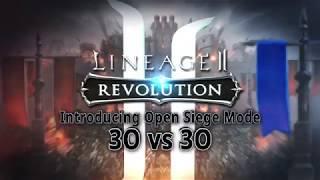 Видео к игре Lineage 2: Revolution из публикации: В Lineage 2: Revolution появились осады
