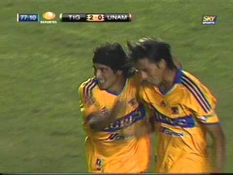 gol de Álvarez a los Pumas.