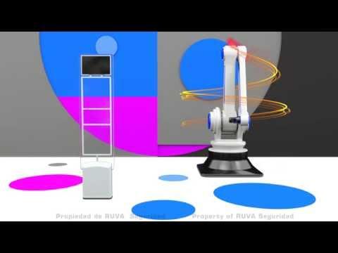 Sistema Antihurto Modelo TEN  3D model