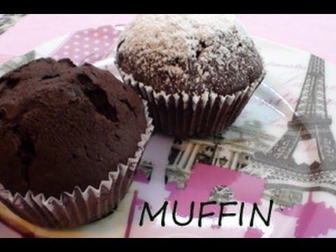 Muffin al cioccolato + gocce di cioccolato!!!