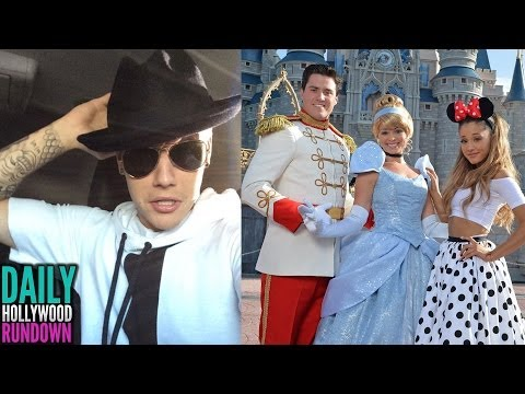 Justin Bieber Flees From Car Crash In Beverly Hills – Ariana Grande's 21st Birthday Party (DHR)