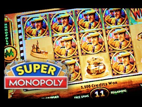 SUPER MONOPOLY – PART 2 of 3 | WMS – SUPER Big Win! Slot Machine Bonus (Hot Days Theme)