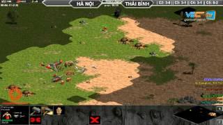 Hà Nội + Xi Măng vs Thái Bình + Hồng Anh C5T3 Ngày 01/08/2015, game đế chế, clip aoe, chim sẻ đi nắng, aoe 2015