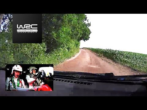 WRC - ORLEN 74th Rally Poland 2017: ONBOARD Latvala SS11