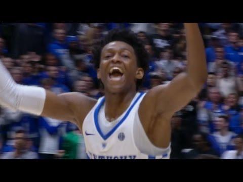 De'Aaron Fox's Clutch Buckets Send Kentucky to SEC Final | CampusInsiders (видео)