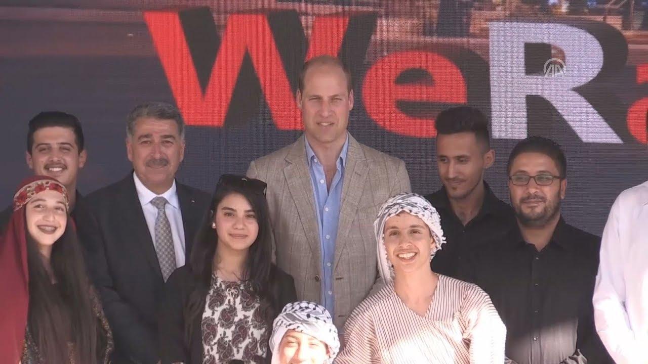 Ο πρίγκιπας Ουίλιαμ στη Ραμάλα