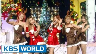 EXID - Happy Christmas [Music Bank Christmas Special / 2015.12.25]