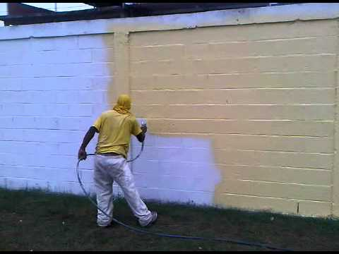 Pintura acabado martillado videos videos relacionados - Maquina para pintar paredes ...