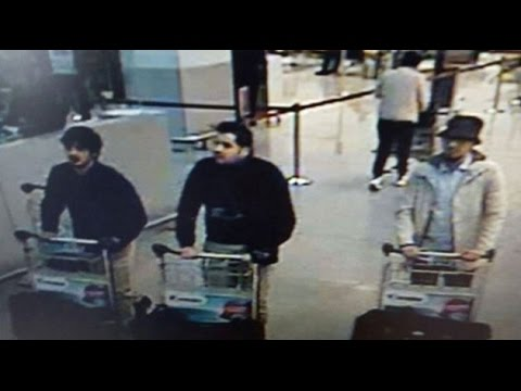 Belgium releases surveillance images of airport suspects: media [News Bulletin]