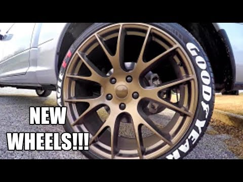 SRT HELLCAT wheels on a DODGE RAM - Brass Monkey