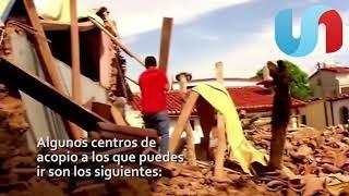 Instalan centros de acopio en Hermosillo para damnificados por temblor