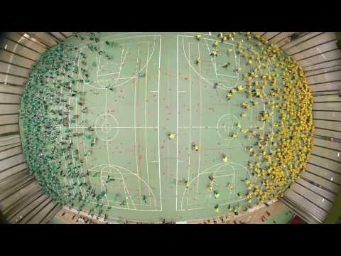 Worlds Largest Dodgeball Game