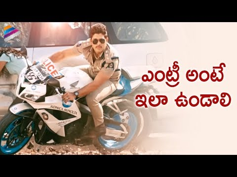 Video Race Gurram Movie Scenes | Allu Arjun entry as a police officer | Shruti Hassan download in MP3, 3GP, MP4, WEBM, AVI, FLV January 2017